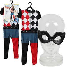 harley quinn jumpsuit dc harley quinn jumpsuit mask child