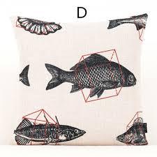 ou jeter un canapé oreillers géométriques bleu clair pour canapé style minimaliste