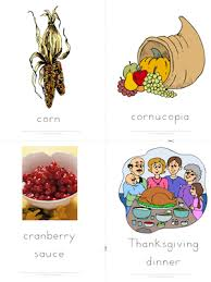 thanksgiving free esl flashcards