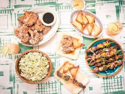 Summer Lunch Menu Ideas For Entertaining - a make ahead tiki menu for summer entertaining saveur