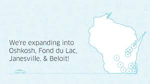 Beloit Wisconsin Map by You Can Now Request Uberx In Four New Wisconsin Cities Uber Blog