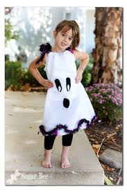 Toddler Ghost Halloween Costume Ghost Pillowcase Dress Costume Cute Wear
