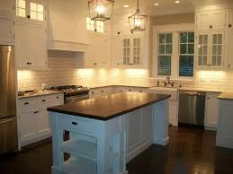 kitchen orleans kitchen island with marble top round butcher block