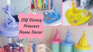 disney princess home decor diy youtube