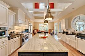 awesome long kitchen island lighting 13596