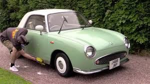nissan figaro neglected nissan figaro gets a bath write up car cleaning guru