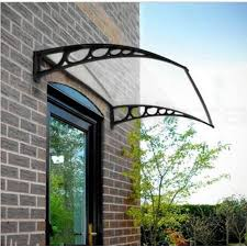 Metal Awnings For Front Doors Zimtown 40