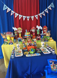 paw patrol candy table ideas photo 115 paw patrol candy bar or cake table by denise scraps