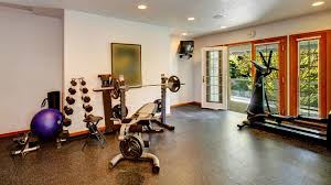 Home Gym Ideas Clever Ideas To Make A Home Gym Attractive Wingwire