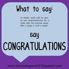 What To Say At Deeper Still What To Say Congratulations