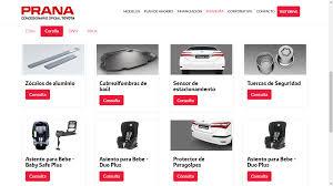 pagina oficial de toyota precio accesorios toyota accesorios toyota