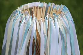 ribbon streamers 150 wedding ribbon wands party ribbon streamers party