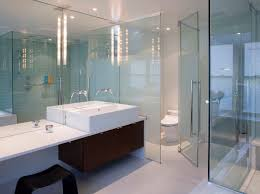 bathroom glass mirrors glass wall bathroom design bathroom wall