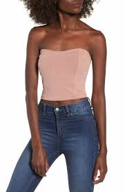 strapless blouse s strapless tops tees nordstrom