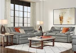 livingroom suites lr rm reina gray sec point leather 4 pc sectional jpeg gallery page