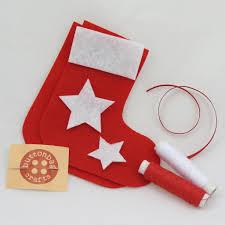 mini stocking christmas decoration children u0027s craft kits from