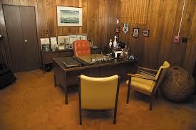 mad men office lang s bowlarama s secret office is a mad men style treasure