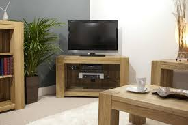 Solid Oak Furniture Padova Solid Oak Furniture Corner Television Cabinet Stand Unit Ebay