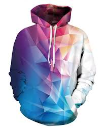 3d sweater 3d colorful rhombus pattern sweater sleeve cool hoodies