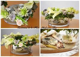 centre de table mariage fait maison centre de table thème mariage la mer fleuriste mariage jacou