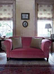 the non matching furniture works and i like the colours on the