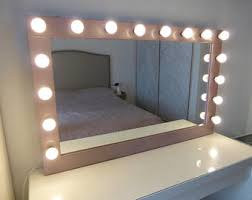 stand alone mirror with lights makeup and jewelry organizers vanity mirrors by crafterscalendar