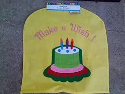 birthday chair cover children s birthday chair cover assorted designs