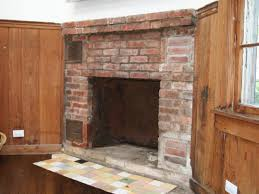 how to cover a brick fireplace with stone hgtv