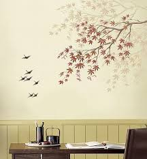 painting stencils for wall art refresh your walls with diy stencil art