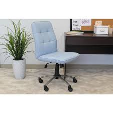 Modern Office Desk Chair by Blue Desk Chairs Home Office Furniture The Home Depot