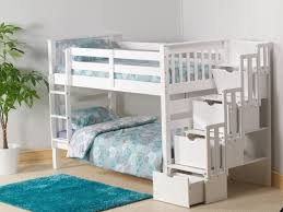Inexpensive Bunk Beds With Stairs White Cheap Bunk Beds With Stairs And Steps Also Storage With 3