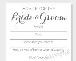 advice cards for and groom advice for the groom printable cards for a wedding or