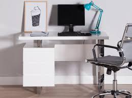 bureau chrome console laqu blanc moeus tura console table white laquer with