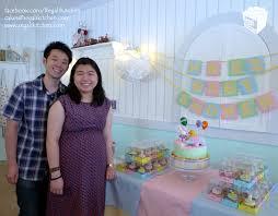 pastel baby shower cake u0026 cupcakes
