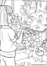 barbie thumbelina coloring pages coloring book