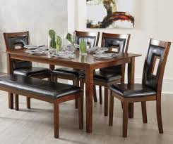 big lots dining room sets i found a harlow 6 padded dining set with bench at big lots