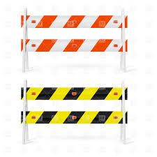 oranges clipart black and white orange and white black and yellow double road barriers vector