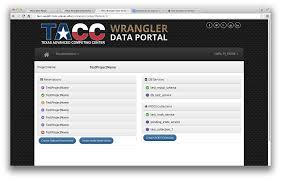 tacc wrangler user guide tacc user portal