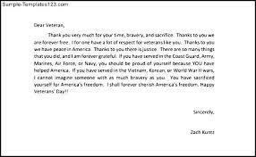 thank you letters to veterans exle sle templates honor