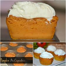 pumpkin pie cupcakes with cream cheese whipped cream hugs and