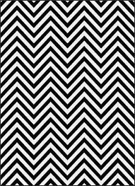Black And White Zig Zag Rug Home Design 81 Cool Black And White Chevron Rugs