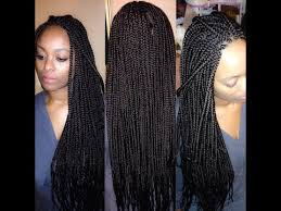 how to box braid with extensions for beginners