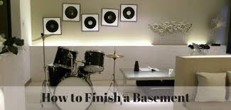 how to finish a basement steps to finishing a basement