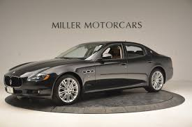 used maserati quattroporte 2013 maserati quattroporte s stock m1801a for sale near westport