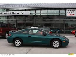 mitsubishi eclipse 1997 1997 monarch green pearl metallic mitsubishi eclipse rs coupe
