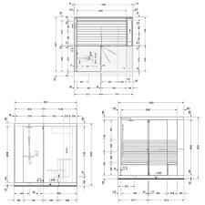 duravit inipi ama sauna freistehende version 235 x 220 5 cm