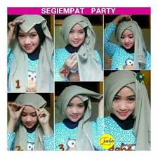 tutorial jilbab turban dian pelangi hijab segitiga tutorial hijab pinterest gaya hijab turban and