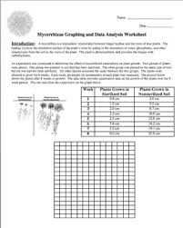 graphing and data analysis worksheet free tpt free lessons