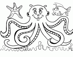 free printable octopus coloring pages for kids coloring home