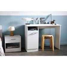 bureau 100 cm essentielle bureau classique décor blanc megeve l 100 cm